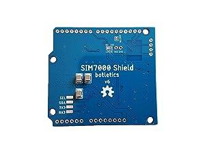 Botletics SIM7000 LTE CAT-M1 NB-IoT Cellular + GPS + Antenna Shield Kit for Arduino (SIM7000G) (Tamaño: SIM7000G)