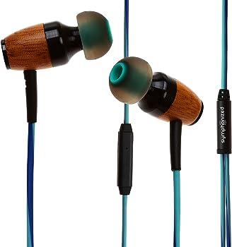 Symphonized DRM Genuine Wood In-ear Headphones