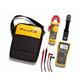 Fluke 117/322 Electricians Multimeter and Clamp Meter Combo Kit (Color: Multi, Tamaño: Small)