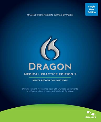 Dragon Medical Practice Edition Book Cover