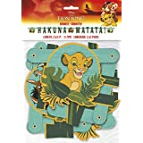 Disney Lion King Jointed Party Banner Large (Color: Multicolor, Tamaño: One Size)