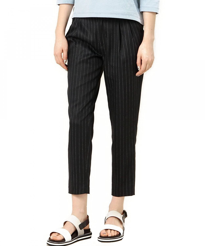 (ビューティーアンドユースユナイテッドアローズ) BEAUTY&YOUTH UNITED ARROWS BYTF リヨセル ストライプタックテーパードパンツ : 服&ファッション小物通販 | Amazon.co.jp