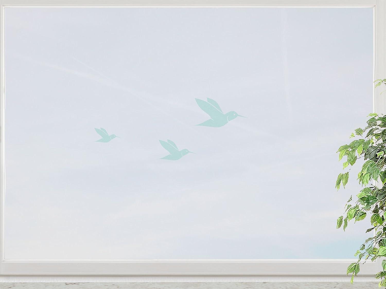 wandfabrik – Fenstersticker Kolibri 3 Stück – mint – 748 – (Xt) günstig kaufen