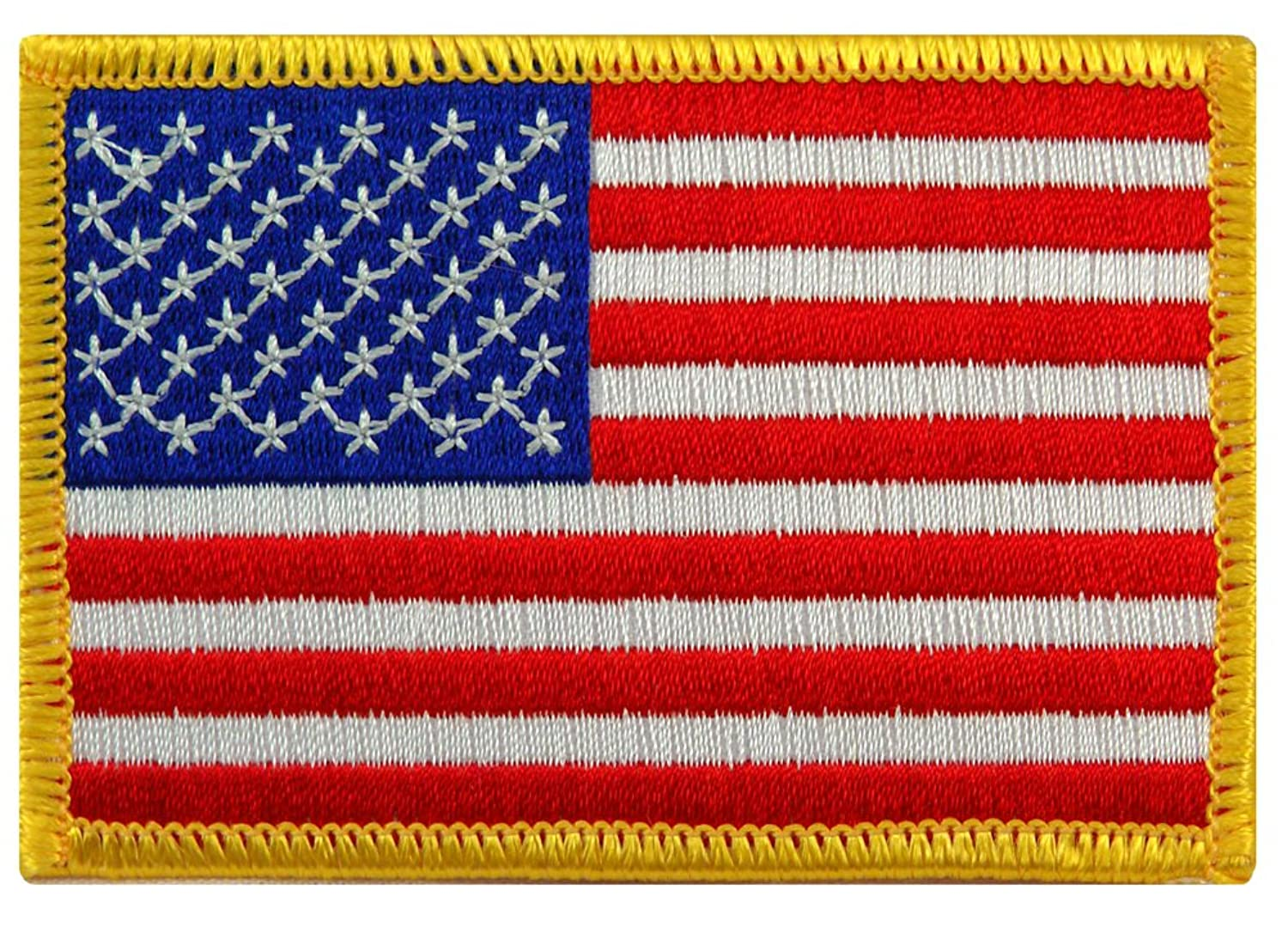 Side shirt american flag patch