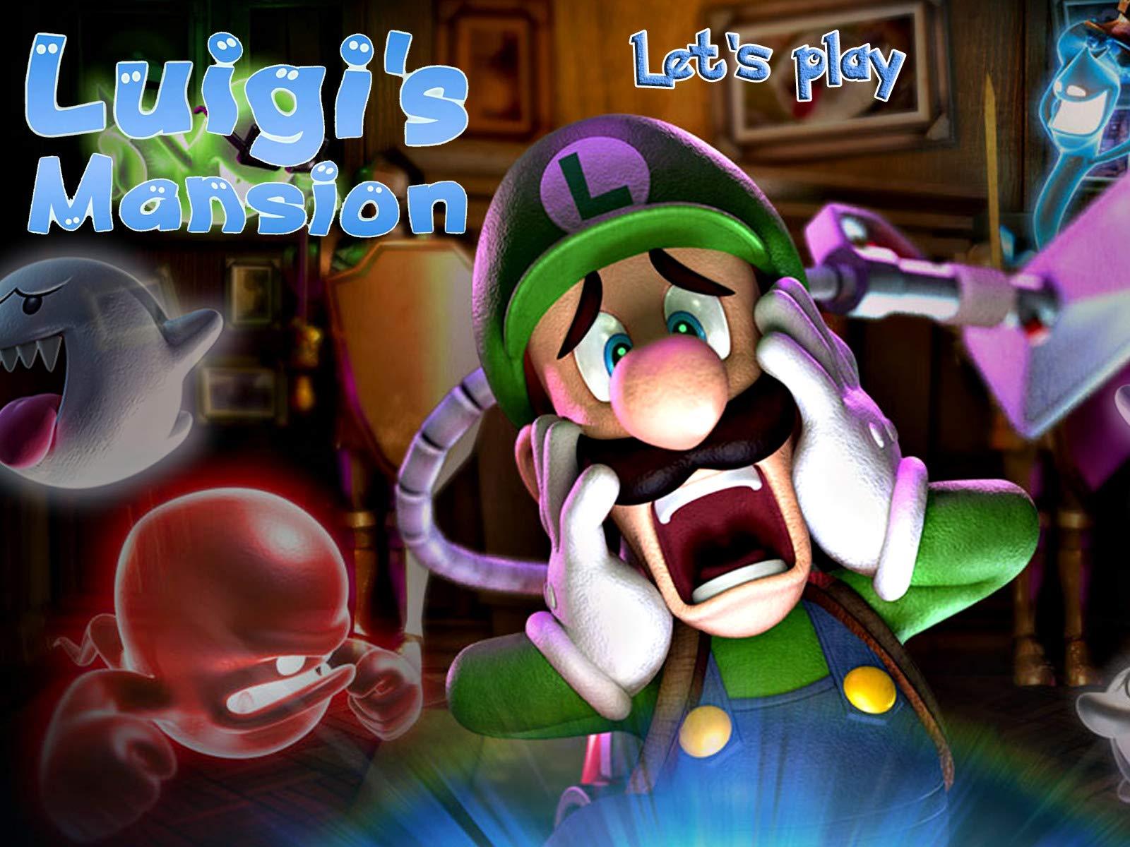 Clip: Luigi's Mansion - Let's play on Amazon Prime Instant Video UK
