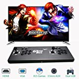 PinPle Arcade Game Console Pandora's Box 4S 815 in 1 Video Games Kit Classic Arcade Game Machine with HDMI & VGA Output for King of Fighters (KOF) (Color: Kof)