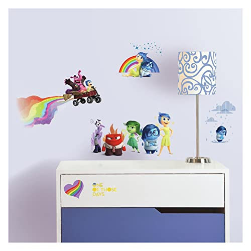RoomMates RMK2998SCS Inside Out Peel and Stick Wall Decals 27 Count