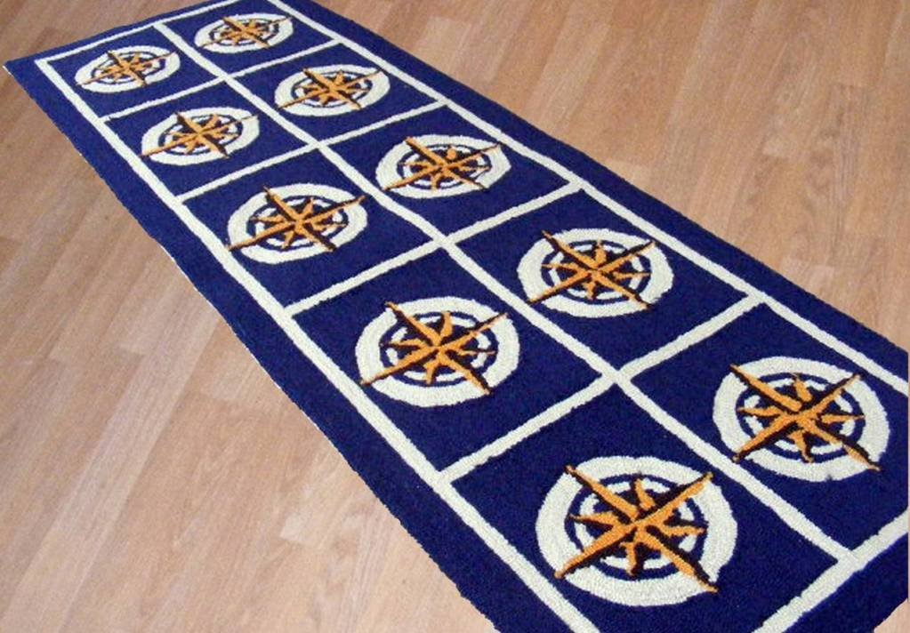 Nautical rugs for