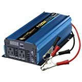 Power Bright PW1100-12 Power Inverter 1100 Watt 12 Volt DC To 110 Volt AC (Color: Blue)