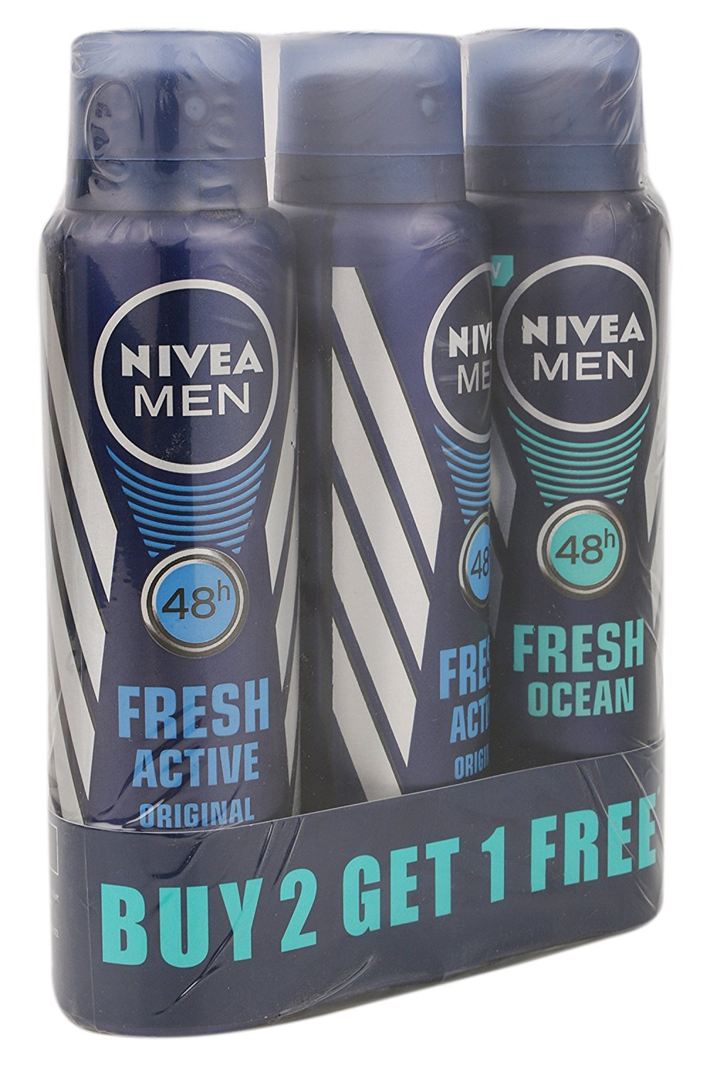 Nivea Fresh Active Deodrant (Buy 2 Get 1 Free)