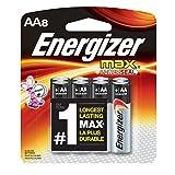 Energizer AA Batteries Max Alkaline, 16 Batteries (Color: 2 Packs (8 Batteries), Tamaño: 2 Packs (8 Batteries))