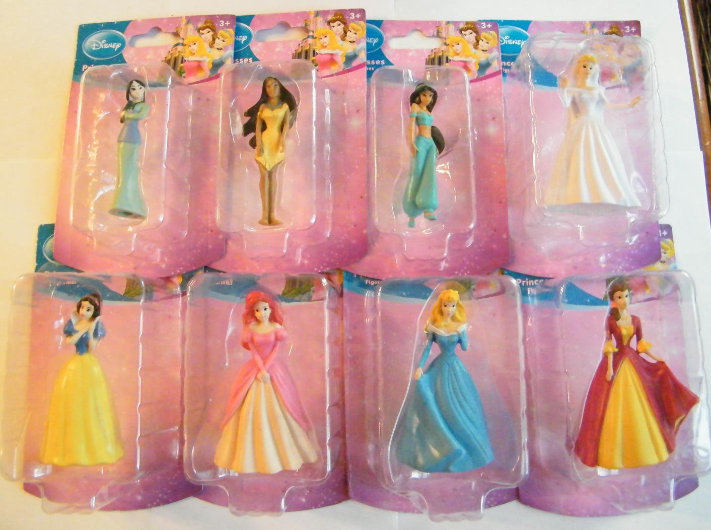 Disney Cake Decorations Princess : Disney Princess Birthday Party Cake Toppers Birthday Wikii