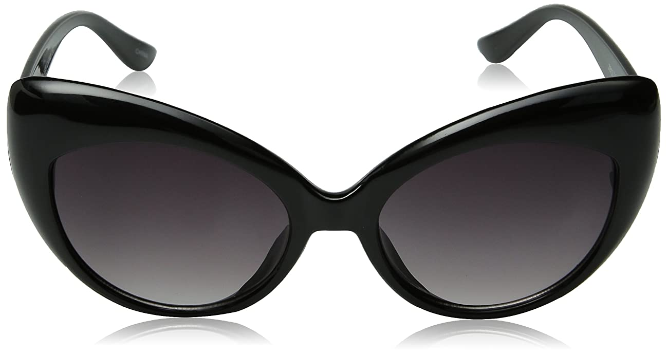 zeroUV - Oversized Vintage Inspired Super & Bold Retro Designer Cat Eye Sunglasses 1