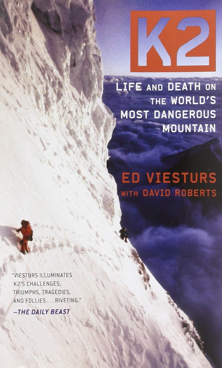 K2: Life and Death on the World's Most Dangerous Mountain Book Cover