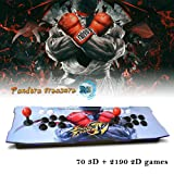 XFUNY Arcade Game Console 1080P 3D & 2D Games 2260 in 1 Pandora's Box 70 3D Games 2 Players Arcade Machine with Arcade Joystick Support Expand 6000+ Games for PC / Laptop / TV / PS4 (Color: Sf-2260)