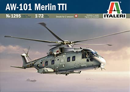 Italeri - I1295 - Maquette - Aviation - AW-101 Merlin TTI - Echelle 1:72