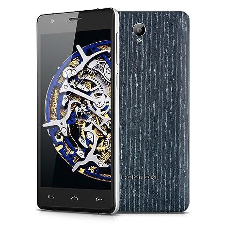 HOMTOM HT5 Smartphone Débloqué 5.0 '' 4G Double SIM Android 5.1 Quad-core MT6735P 1G RAM + 16G ROM 4250mAh Deux Caméra (Abricot)