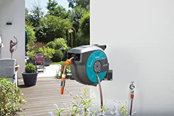 Gardena 8022 avvolgitubo a parete roll up 15 automatico - Guida giardinaggio ...