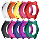 Awinner Case for Gear S3 Frontier SM-R760, Shock-proof and Shatter-resistant Protective Band Cover Case for Samsung Gear S3 Frontier SM-R760 Smartwatch (10-Colour)