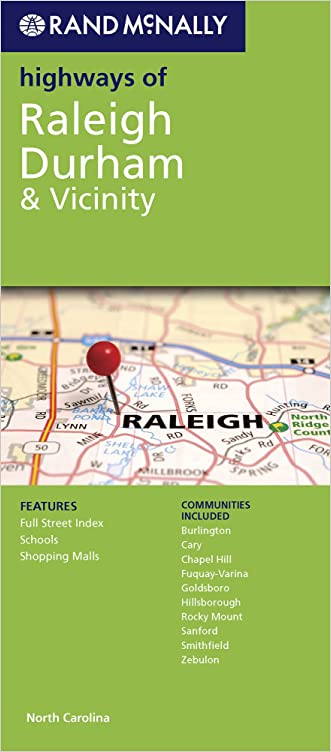 Rand McNally Folded Map: Raleigh Durham Highways (Rand McNally Highways Of...)