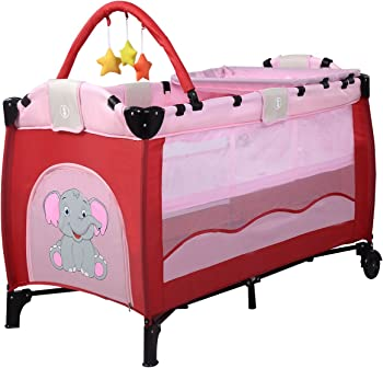 Baby Infant Travel Bed Baby Playpen