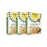 Simple Mills Almond Flour Mix, Artisan Bread, 10.4 oz, 3 count