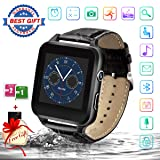 Smart Watch,Bluetooth Smartwatch Touchscreen with Camera,Smart Watches Waterproof Smart Wrist Watch Phone Compatible Android iOS for Men Women Kids (X-Black) (Color: X-Black)