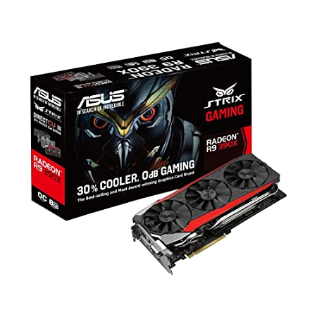 Asus STRIX-R9390X-DC3OC-8GD5-Gaming Carte Graphique AMD 8GB GDDR5