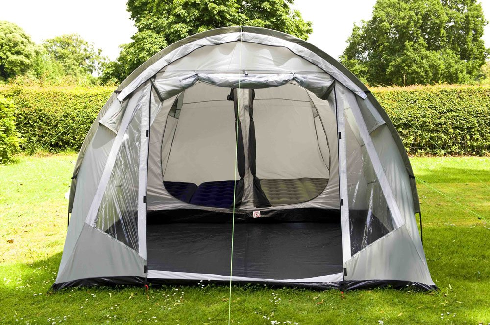 Coleman Coastline 4 Deluxe Four Man Tent & Quick Pitch Tents UK: Coleman Coastline 4 Deluxe Four Man Tent