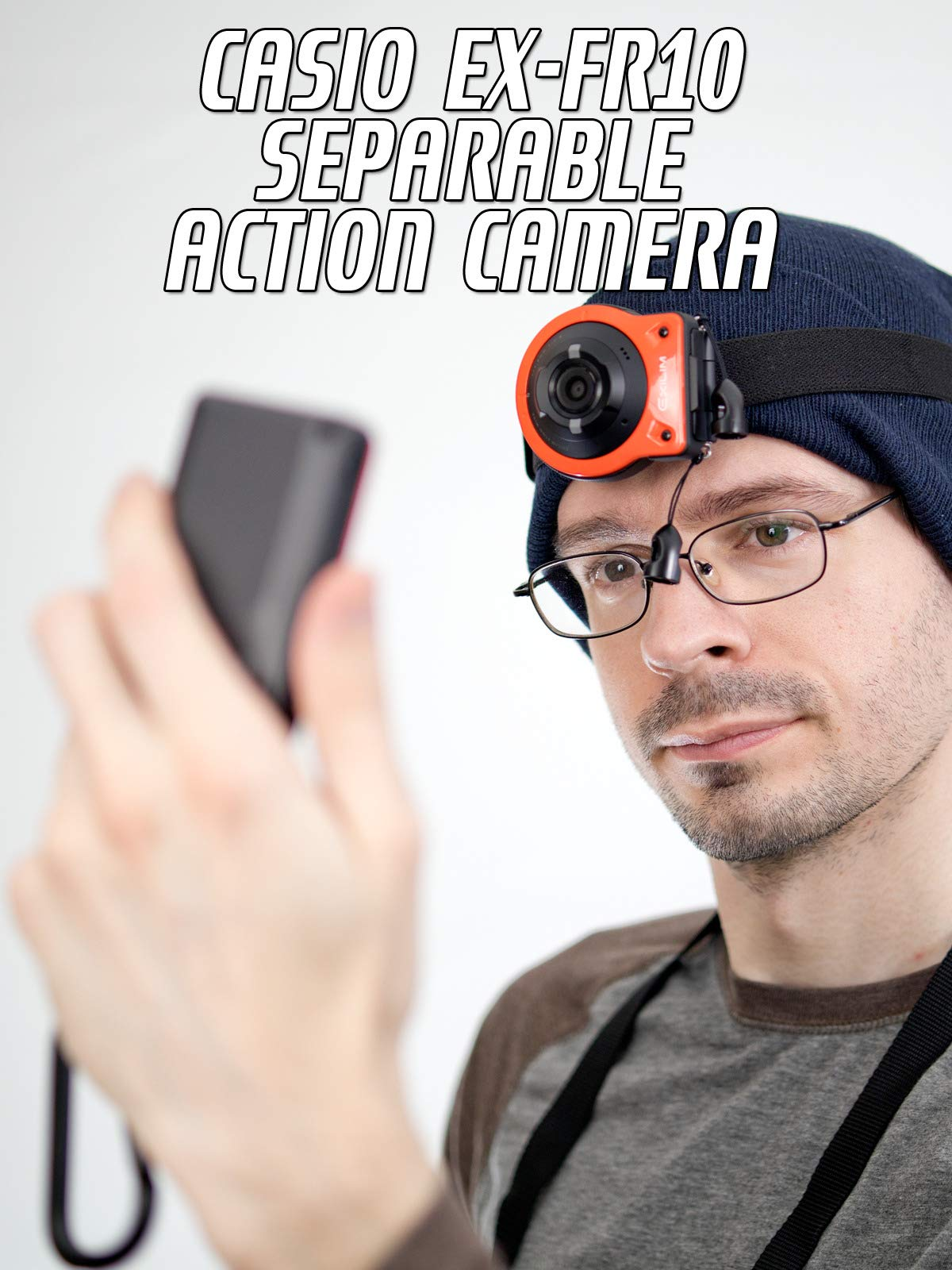 Review: Casio EX-FR10 Separable Action Camera