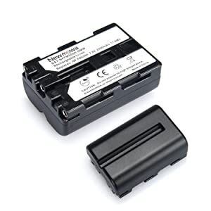 Newmowa NP-FM500H Replacement Battery (2-Pack) and Charger kit for Sony Alpha A58 A57 A65 A77 A99 A900 A700 A580 A560 A550 A850 Sony SLT a99 II