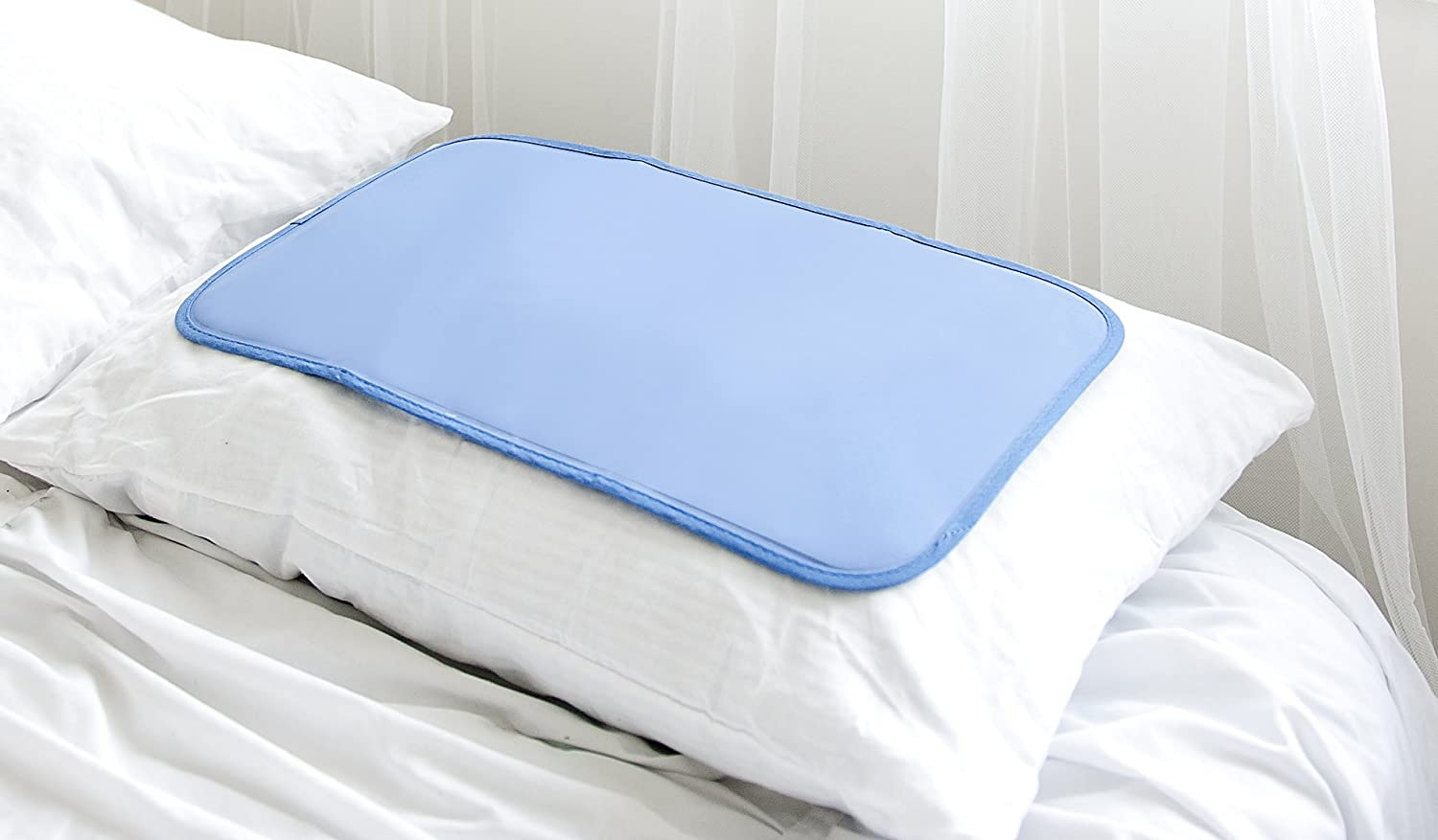 Penguin Cooling Pillow Mat 12.2 x 22 in. Largest on Amazon, Soft Gel, No Water or Leaks пинетки митенки blue penguin puku