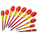 Stanley 562573 FatMax Screwdriver Set Insulated Par / Flared / Pozi (10 Pieces)