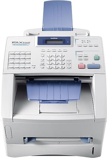 Brother FAX 8360P T él écopieur / photocopieuse Noir et blanc laser copie (jusqu'à) : 14 ppm 250 feuilles 33.6 Kbits/s