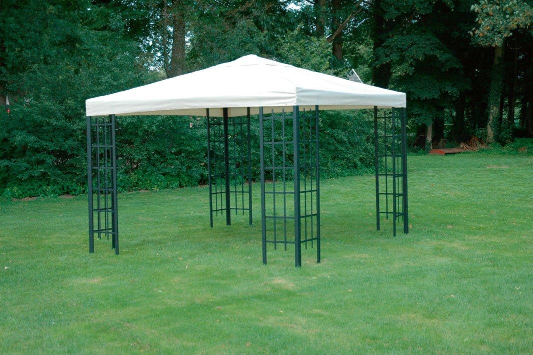 pavillon 3x3 garten einebinsenweisheit
