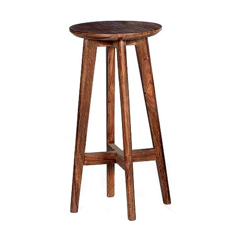 Sit-Möbel 4371-01 tavolino da salotto Scandi, 110 x 70 x 40 cm, laccato Sheshame, struttura in legno, Front multicolore