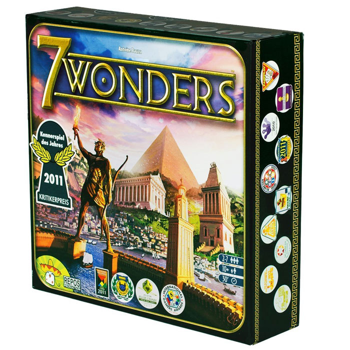 Buy Repos Productions 7 Wonders Board Game Online At Low Prices In India Amazon In