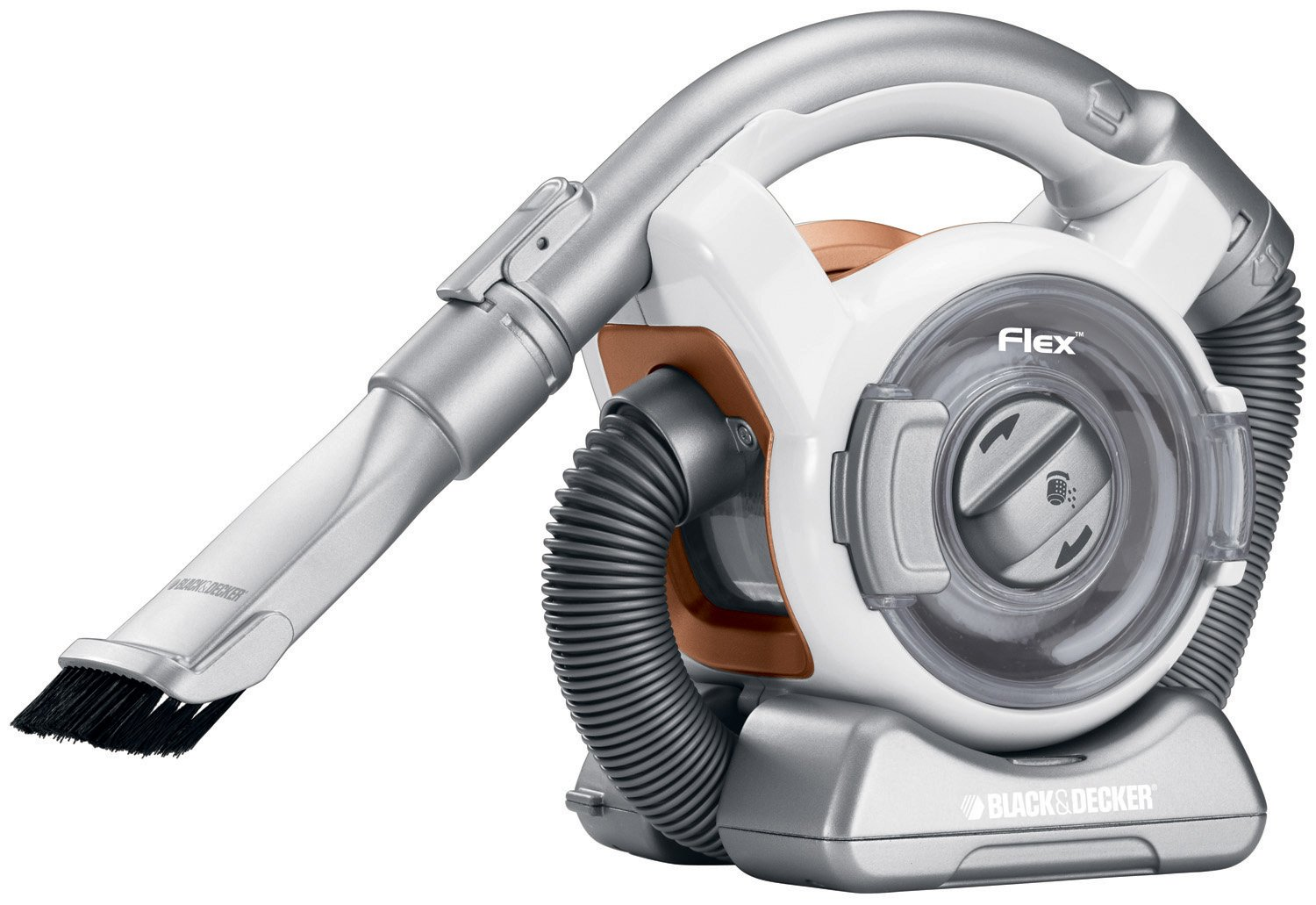 black decker cordless flex mini canister vac vacuum fhv1200 ebay. Black Bedroom Furniture Sets. Home Design Ideas
