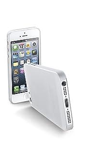 Cellular Line 035IPHONE5T - Carcasa para Apple iPhone 5, transparente - Electrónica - Más información y revisión del cliente