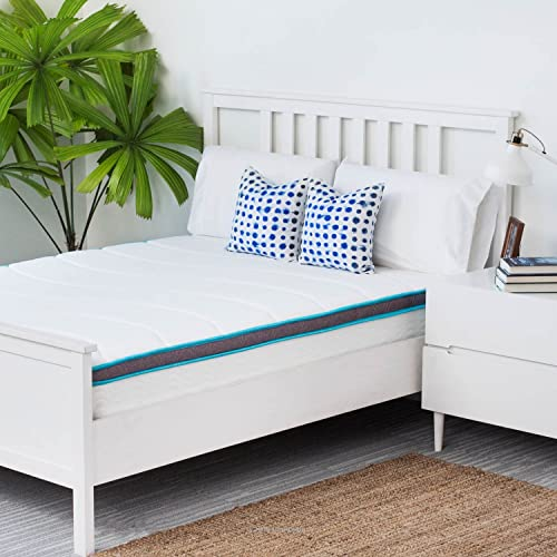 Linenspa Spring and Memory Foam Twin Size Hybrid Mattress