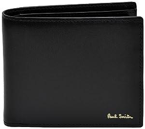 ポールスミス Paul Smith 正規品 本革 シティエンボス 二つ折り財布 ショップバッグ付 ウォレット