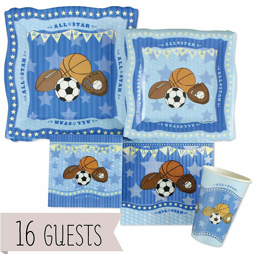 boy sports baby shower party kits baby shower mania