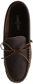 Minnetonka Street Moc: 972 Dark Brown
