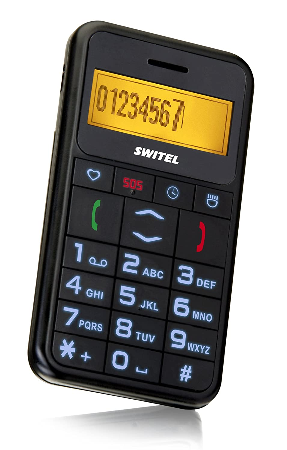 T�l�phone GSM SWITEL M110 NOIR