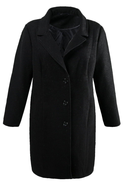 Ulla Popken Damen Mantel 701446 große Größen