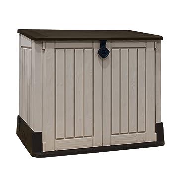 grand coffre de rangement pour le jardin en pvc caracas 800 l jjdgjnmnmnvm. Black Bedroom Furniture Sets. Home Design Ideas