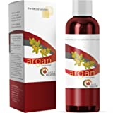 Argan Oil Conditioner - 8 0z - Purest Formula - Natural Treatment for Dry and Damaged Hair - Sulfate Free, Silicone Free, Fragrance Free, Cruelty Free - Men and Women - Made in USA By Maple Holistics (Color: Argan Conditioner)