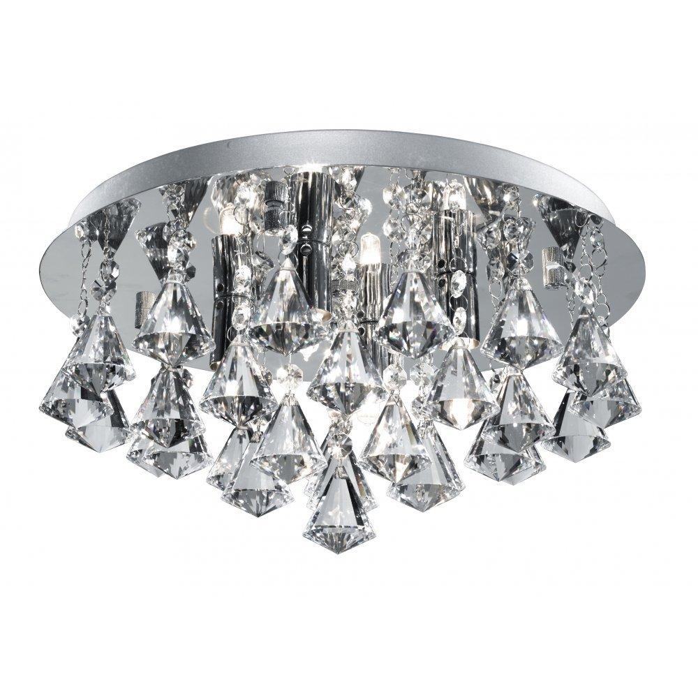 Hanna 4 Light Semi Flush Light       review