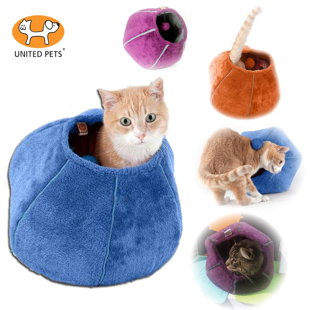 United Pets Kitty Cat Cozy Cave