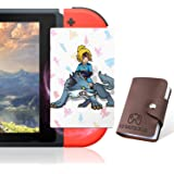 VANGA NFC Game Cards for The Legend of Zelda Breath of The Wild Compatible with Switch, Wii U - Pack of 23, Standard Cards with Holder